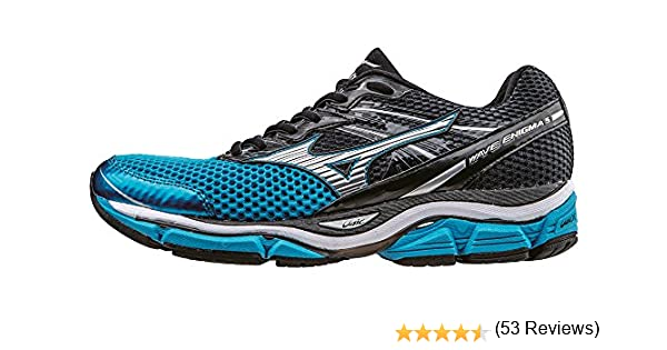 Mizuno Wave Enigma 5 - Zapatillas de running hombre , color Azul (Atomic Blue/Silver/Ombre Blue), talla 45 EU (10.5 UK): Amazon.es: Zapatos y complementos