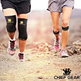 Copper-Knee-Sleeves-1-Pair-with-FREE-Patella-Knee-Braces-1-Pair-GUARANTEED-Best-Copper-Infused-Fit-Compression-Recovery-Sleeves-Both-Men-Women-by-Copper-Chief-Gear