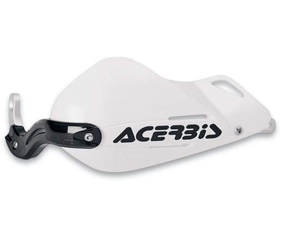 Acerbis 2141970002 Super Moto X-Strong White Handguard