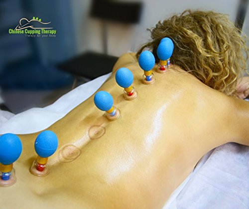 Magnetic Suction Cup Therapy Set – by Unique Therapy   Our Professional 8 Piece Set is Great for Lower Back Pain and an Excellent Addition for Massage by UNIQUE THERAPY (Image #2)