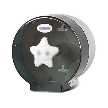 XYB Soporte de Papel para Toallas, baño sin Perforaciones, Redondo, Impermeable, Caja