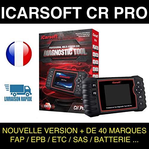Valise Diagnostic Auto MULTIMARQUE OBD2 100/% Francais ICARSOFT CR Pro