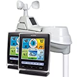 AcuRite 01078M Pro Color Weather Station with Two Displays and Rain/Wind/Count Temperature/Humidity