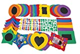 Colorations EVAFK No-Glue Fun Foam Frames (Pack of 36)