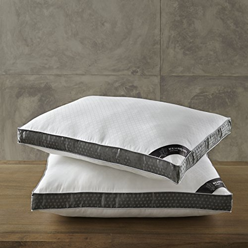 2 Pack Sleep Pillows by Behrens England, High loft Luxury Eu