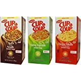 Lipton Cup-a-Soup Variety 22 Count (Pack of 3)