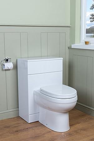 Badezimmer Möbel Spülkasten Verkleidung Schrank + Toilette WC ...