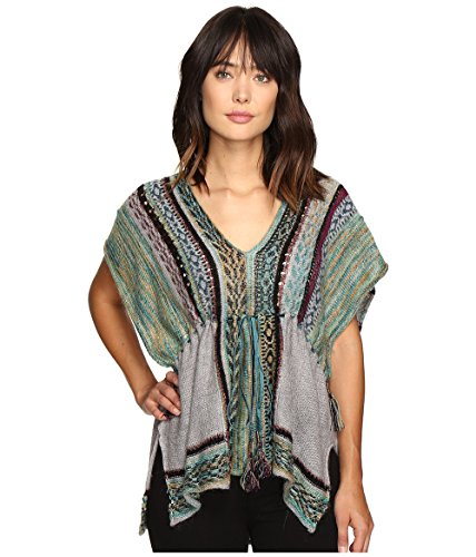 Free People Women's Moonlit Path Pullover Green Combo X-Small by Free People