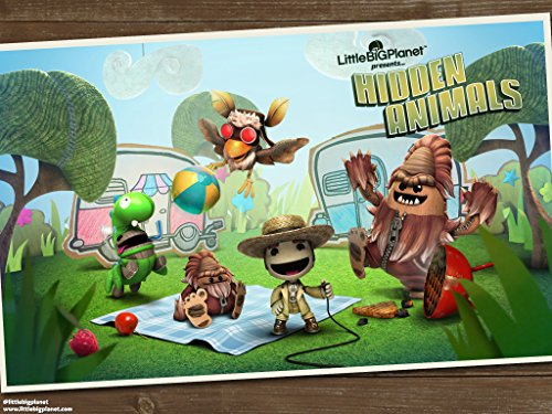 All Sackboy Costumes (LittleBigPlanet 3 Hidden Animals Creatures Costume Pack DLC (PS4) [DIGITAL DELIVERY ONLY BY AMAZON)