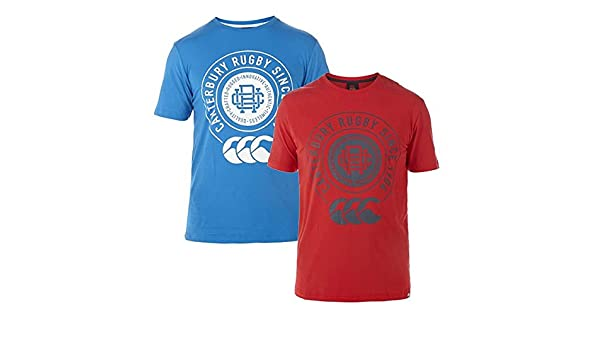 Amazon.com: Canterbury College T-Shirt - SS15 - Small - Blue: Sports & Outdoors