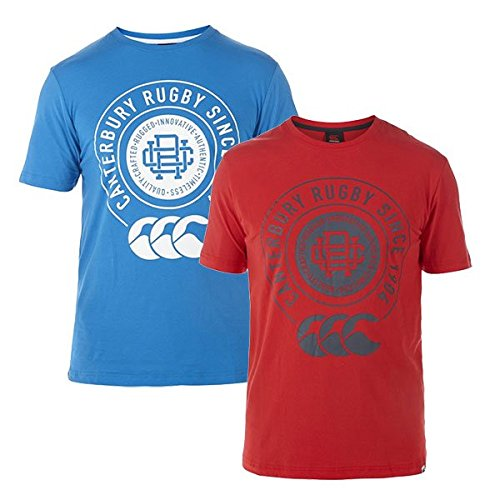 Canterbury College T-Shirt - SS15 - Small - Blue
