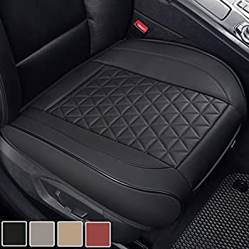 Black Leather Ford Focus Car Full Set Seat Cover Protect Cushion Pad Good