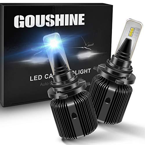 GOUSHINE 9006/HB4 LED Headlight Bulbs J1 Automotive Headlamp 8000LM CSP Chips Conversion Kit 12V Pack of 2...