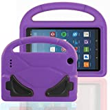 FUQUN Kids Case for Fire 7 2017 - All-New Light Weight EVA Shock Proof Handle Friendly Convertible Stand Kids Case for Amazon Kindle Fire 7 inch Display Tablet (2017 Release)