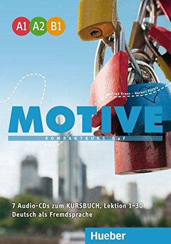 Motifs Cd - Motive - Kompaktkurs DaF: Audio-CDs zum Kursbuch A1-B1 (7)