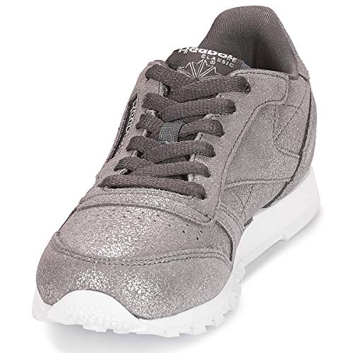 Fitness ash Classic ms w Reebok De Multicolore Grey 0 pewter Leather Chaussures Femme dZqqIzw