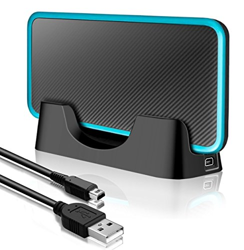 USB Charging Dock Charger Cradle with Cable for Nintendo 2DS XL