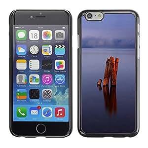 Paccase / SLIM PC / Aliminium Casa Carcasa Funda Case Cover - Calm lake - Apple Iphone 6
