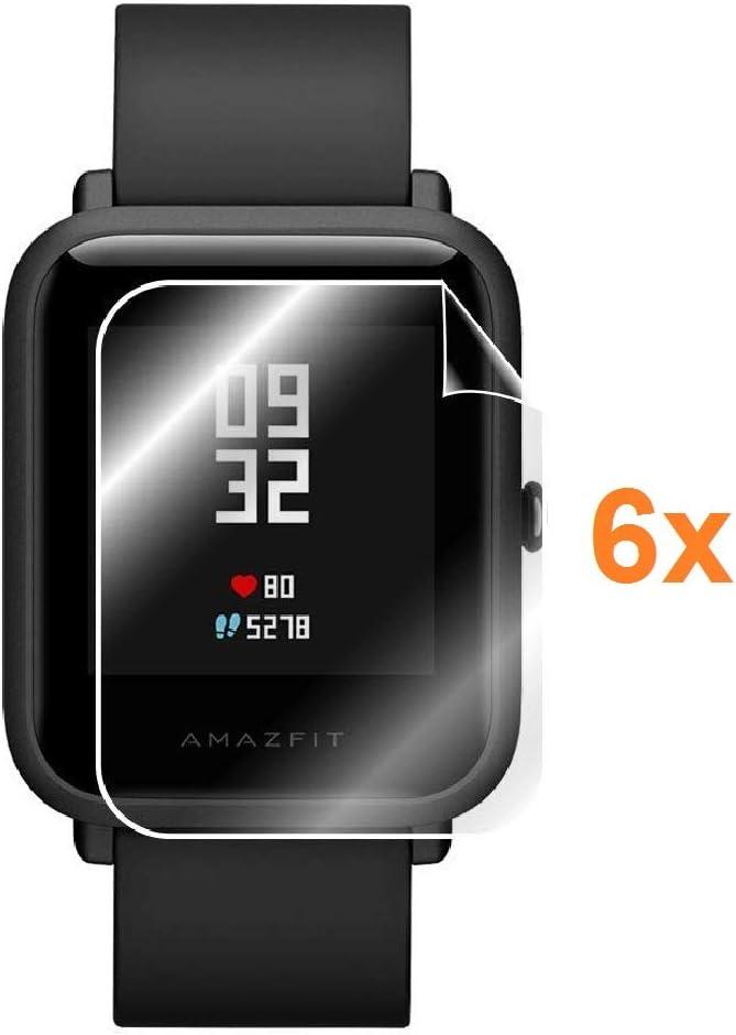 Protector de Pantalla para XIAOMI AMAZFIT GTS, Reloj SmartWatch, (Pack 6X)