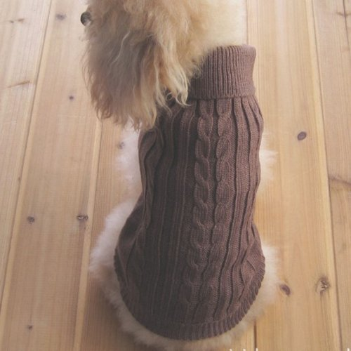 tangpan-turtleneck-classic-straw-rope-pet-dog-sweater-apparel-browns