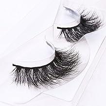 Arimika 3D Long Thick Dramatic Looking Handmade Mink False Eyelashes For Makeup 1 Pair Pack (Dramatic Looking)