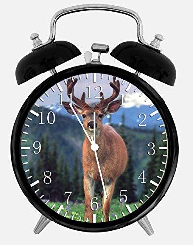 Deer Buck Alarm Desk Clock 3.75