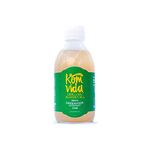 Komvida - Kombucha Greenvida - 5509-500ml-KomVida