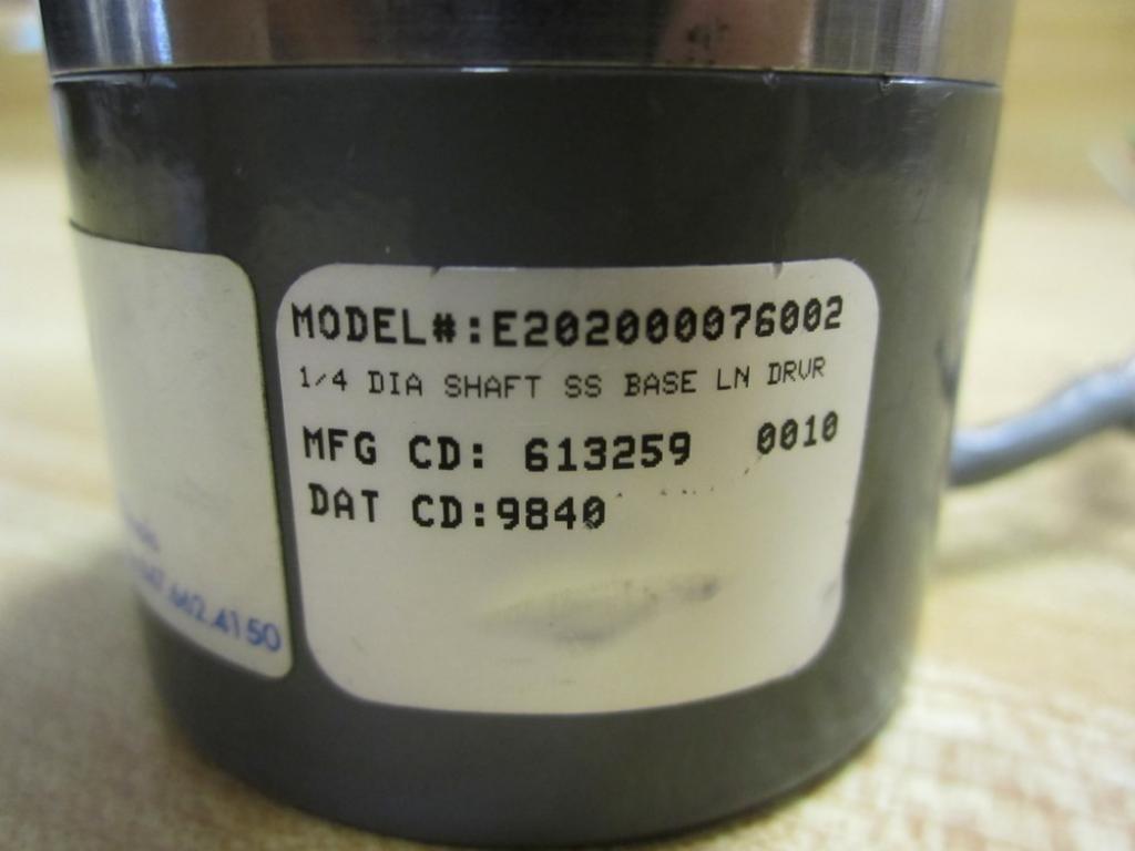 Danaher Controls E202000076002 Encoder