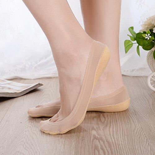 Gan 40 Jing Beige EU36 3 3 Beige Beige shoe sizeUK4 7 Ren Pairs Small donna Lace Ballerine Pairs r1Yd6wrq