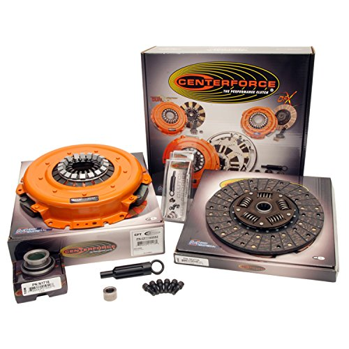 1992 Chevrolet Camaro Clutch (Centerforce KCFT355216 Centerforce II Full Clutch Kit)