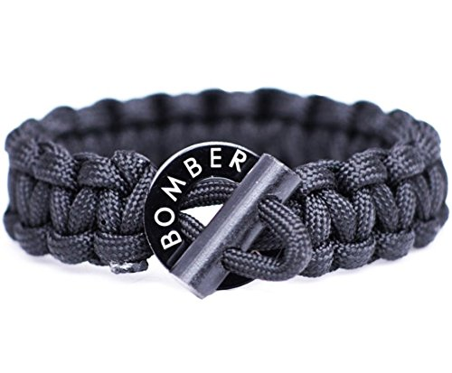 The ORIGINAL Bomber Firestarting Paracord Keychain