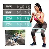 MVN Resistance Bands Set Exercises Guide Printed on Loop Bands to Tone Legs Butt Core and Arms...