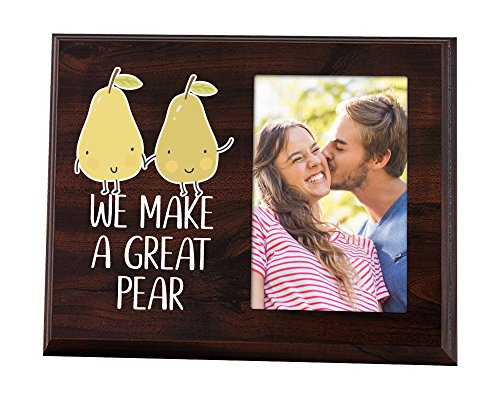 Elegant Signs We make a great pear picture frame for cute couple