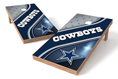 PROLINE NFL Dallas Cowboys 2'x4' Cornhole Board Set - Swirl Design