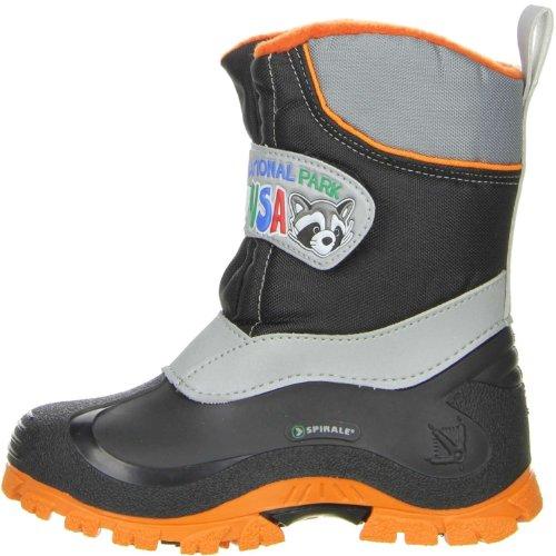 Spirale Kinder Winterstiefel Snowboots 100% Cadmium Nickel Blei FREI schwarz 24