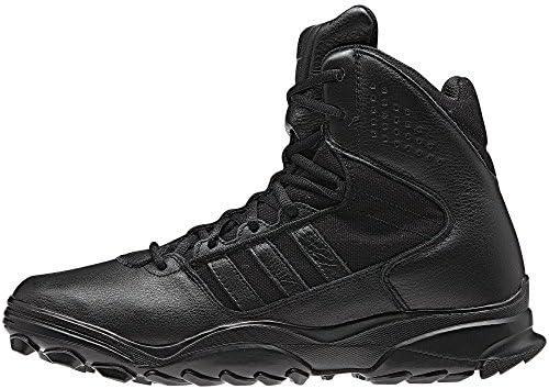 adidas black military boots