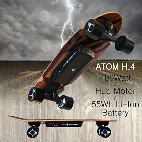 Atom Longboards Atom Electric H 4 Skateboard 400w Hub