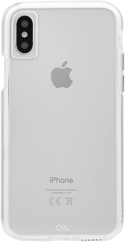 Case-Mate iPhone X Case - Naked Tough - Clear - Ultra Slim - Protective Design for Apple iPhone 10 - Clear