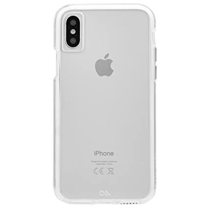 classic fit a2b32 ba986 Case-Mate iPhone X Case - Naked Tough - Clear - Ultra Slim - Protective  Design for Apple iPhone 10 - Clear