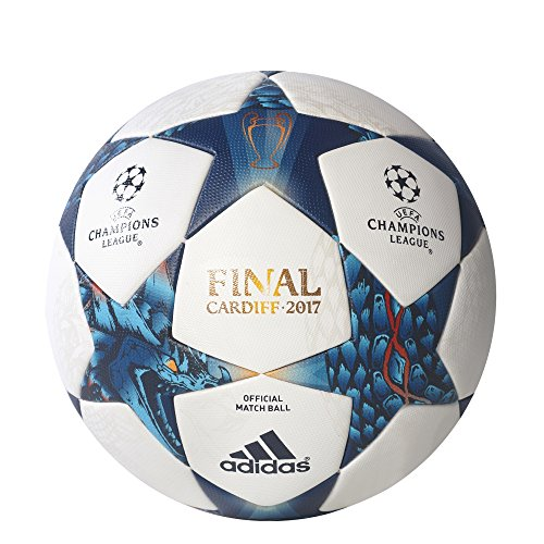 Adidas Finale Cardiff Omb Match Ball 5 White/Blue (Adidas Finale Ball)