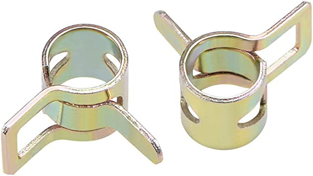 Spring Band Fuel Hose Clips Silicone Clamp 7mmAs The Picture