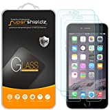[3-Pack] Supershieldz for iPhone 6 / iPhone 6S Tempered Glass Screen Protector, [3D Touch Compatible] Anti-Scratch, Anti-Fingerprint, Bubble Free, Lifetime Replacement Warranty