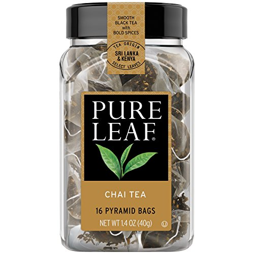 Pure Leaf Hot Tea Bags, Chai Tea 16 ct (pack of 6)