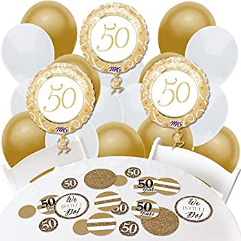 decorations for 50th wedding anniversary 50th fiftieth anniversary balloons bell 3422