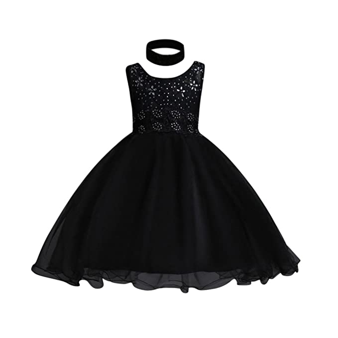 Hougood Girls Dresses Summer Princess Dress Prom Dresses Birthday Weddings Party Dress up Ceremony Formal Dresses Ball Gown Age 2-14 Years Kids Tulle Dress ...