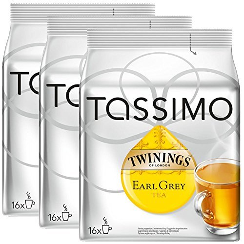 Bosch Tassimo - 16 Cápsulas Discos T Twinings Earl Grey Tea ...