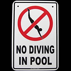 pool signs - Pool Signs
