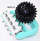 Muscle Roller Foot Massager by Nexlvl - Awesome Trigger Point Body Massager Massage Roller Massage Ball for Myofasical Release, Muscle Pain Relief, Deep Tissue, Muscle Recovery - Workout Equipment