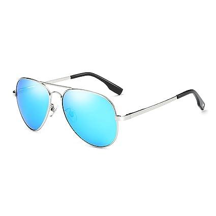 TESITE Gafas Polarizadas para Hombres Gafas De Sol Espejo 100% Anti UV