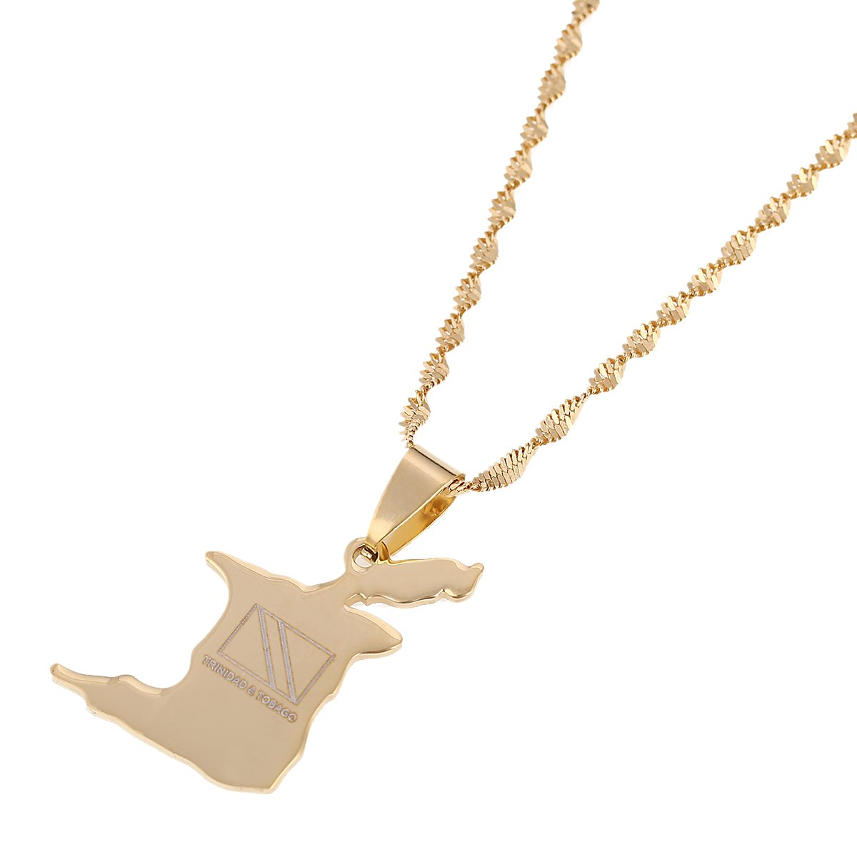 Popular Little Swan White Choker Necklace Gold Chain Pendant Fashion Gift Women